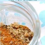 Homemade Spice Rub for Chicken.