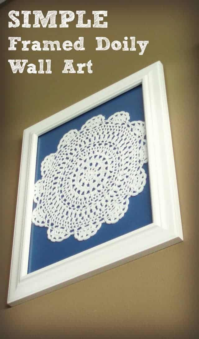 Simple Doily Wall Art