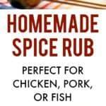 chicken spice rub