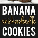 banana snickerdoodle cookie recipe