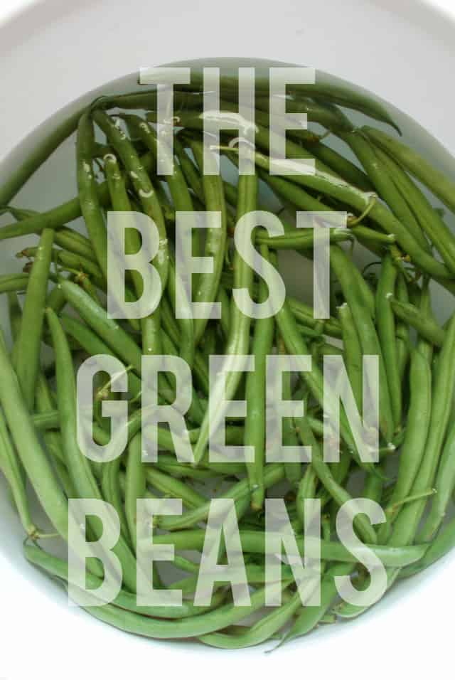 recipe for southern style green beans