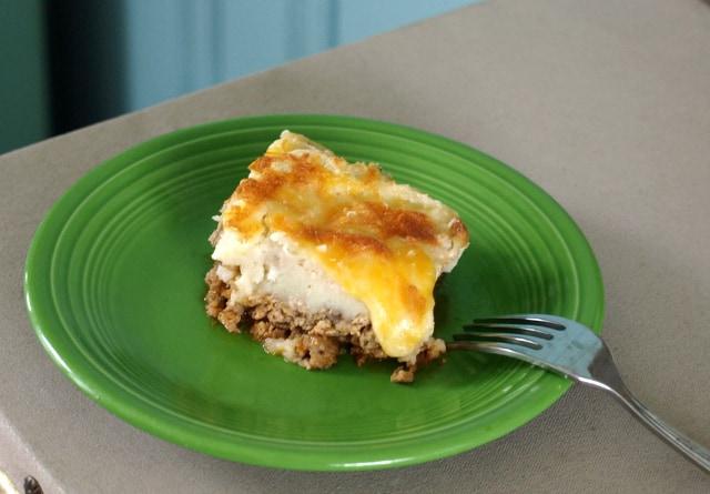 easy recipe for ground turkey shepherd's pie