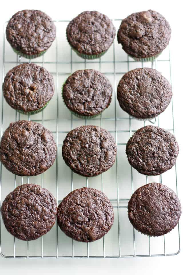 easy black bean cupcakes