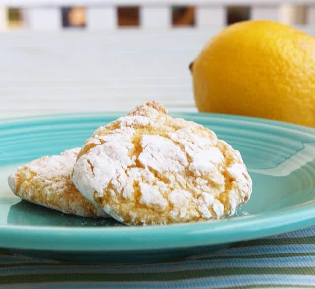 Lemon Cool Whip Cookies. - The Pretty Bee