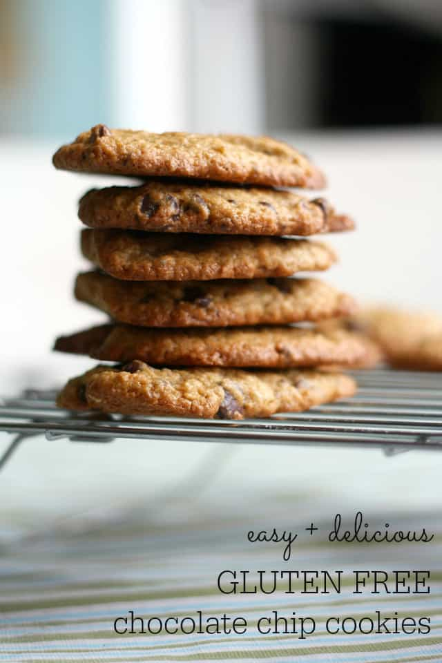 BEST Gluten Free Chocolate Chip Cookies. Ever. - The Pretty Bee