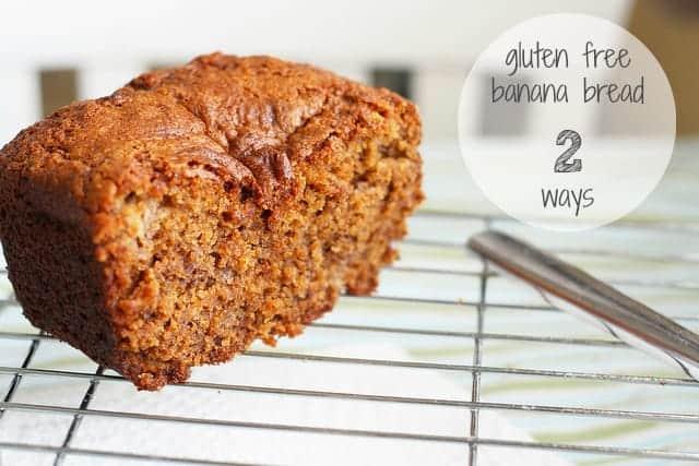 banana bread recipe, can be gluten free