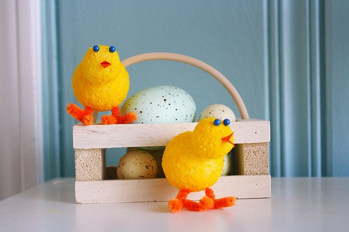 Easter chick crafts