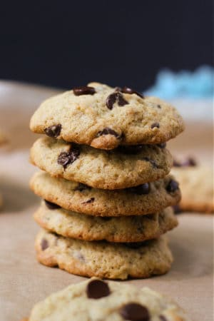 soft banana chocolate chip cookies