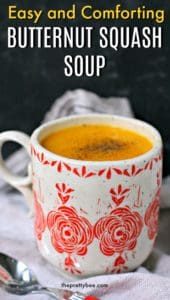 tasty butternut squash soup