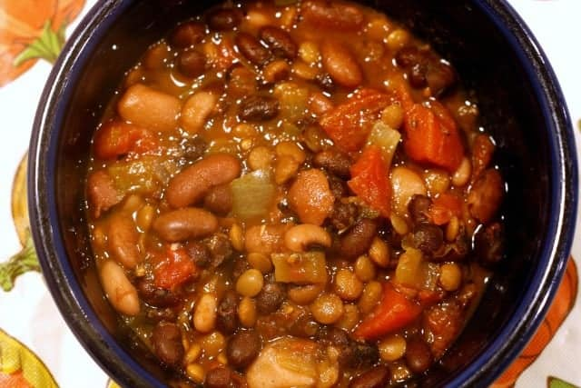 nine bean soup recipe