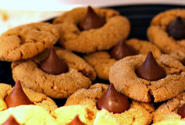 flourless peanut butter kiss cookie recipe