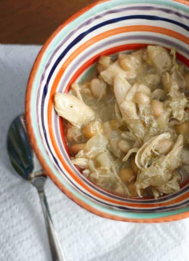 gluten free white chicken chili