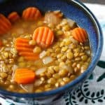 Easy and Delicious Lentil Soup.