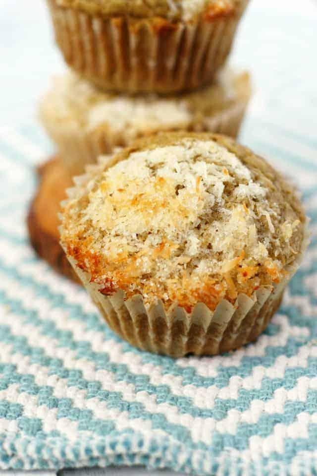 Tender gluten free and dairy free muffins