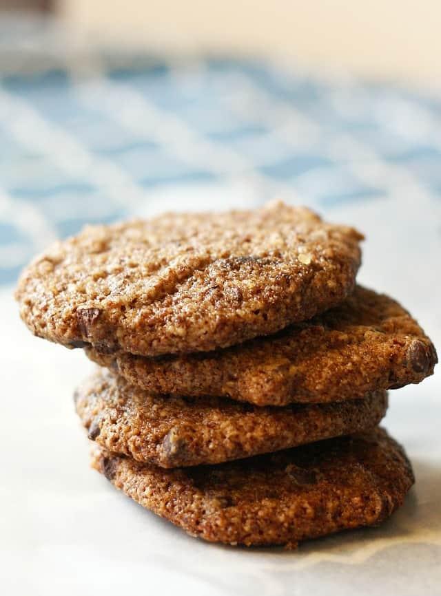 vegan and grain free chocolate chip cookie recipe
