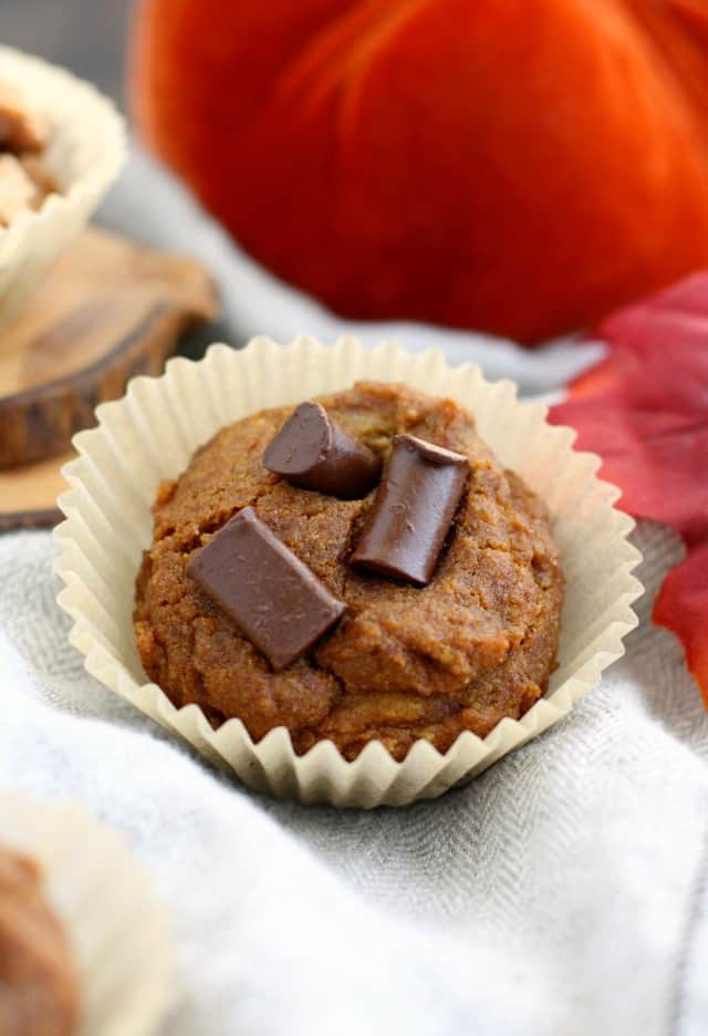 The best gluten free and vegan chocolate chip pumpkin muffins! My family LOVES these.