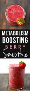 berry smoothie for metabolism
