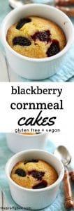 simple blackberry cakes
