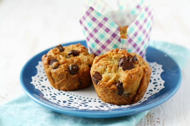 Our favorite gluten free and vegan banana chocolate chip muffin recipe.