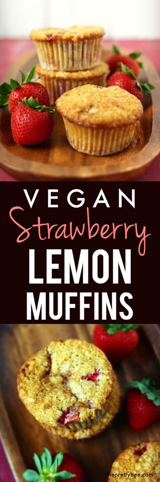 vegan strawberry muffin recipe