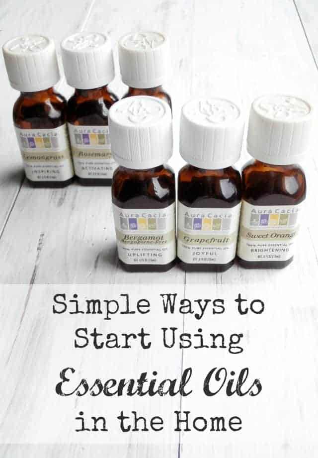 how to use essential oils in your home