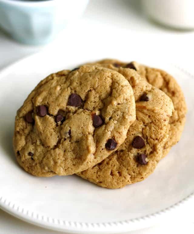 vegan soft batch cookies