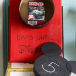 Disney World Countdown Calendar.