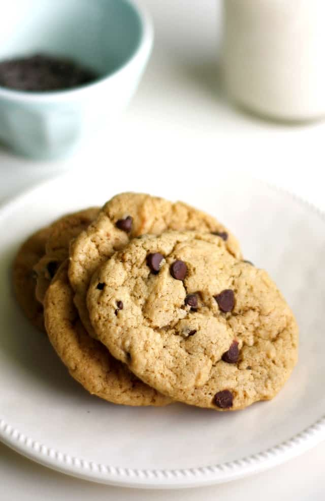 Soft Batch Vegan Chocolate Chip Cookie Recipe The Pretty Bee