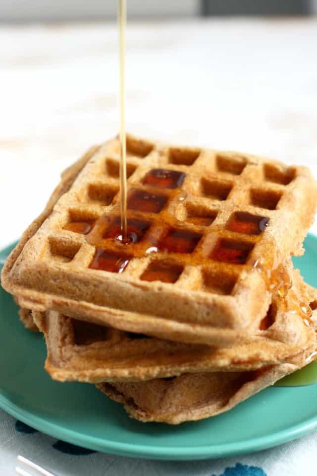 vegan spelt waffle recipe