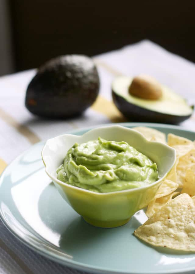 easy avocado dip recipe