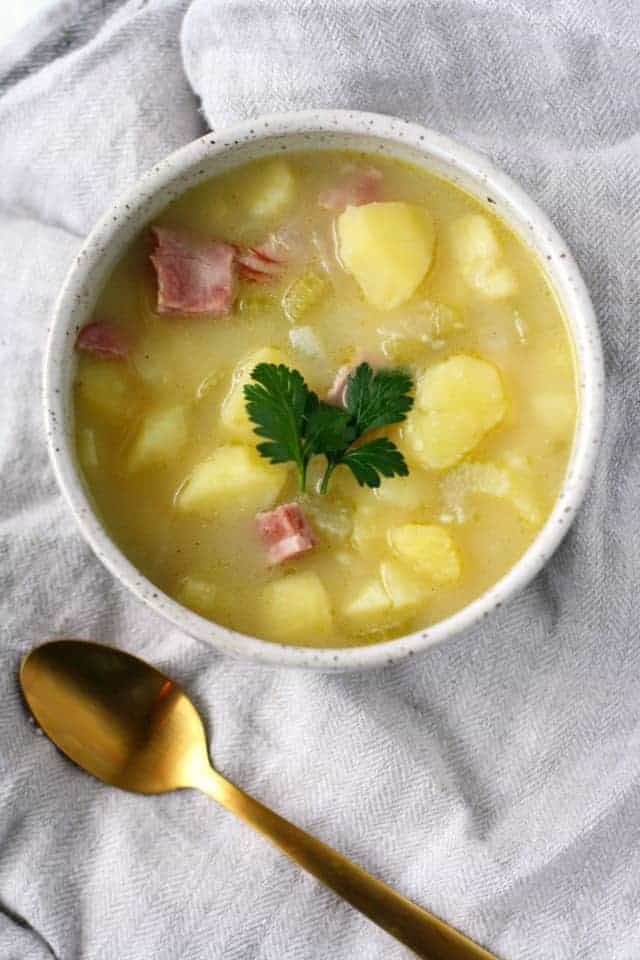 dairy free potato soup