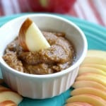 dairy free vegan peanut butter apple dip recipe