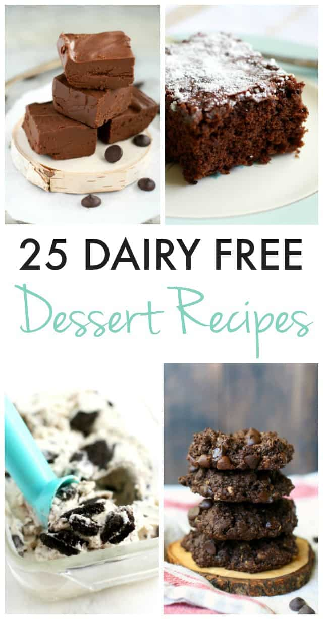 Dairy free dessert recipes