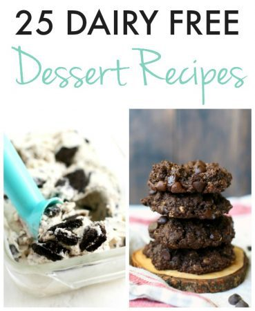 easy and delicious dairy free dessert recipes