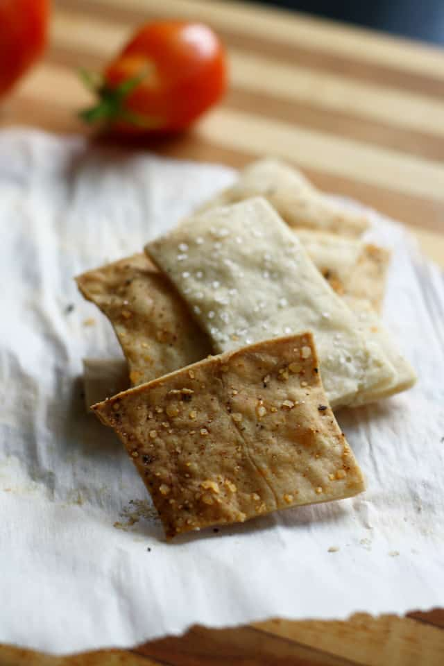 easy to make gluten free crackers