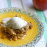 gluten free and vegan apple crisp recipe