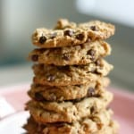 gluten free and vegan peanut butter chocolate chip cookie recipe