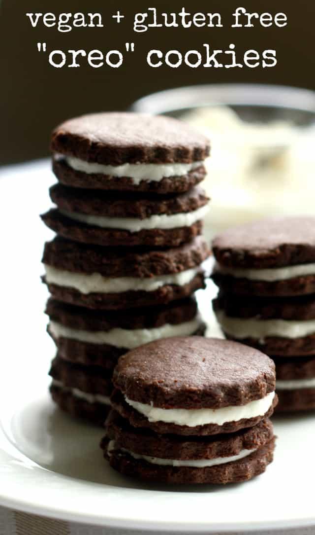 vegan and gluten free oreo cookie recipe
