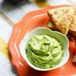 A creamy and delicious healthy avocado dip. Dairy free recipe.