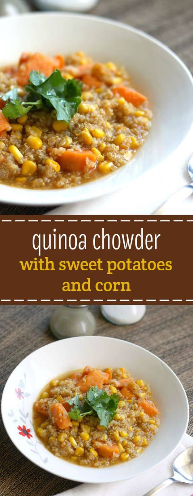 Hearty corn and sweet potato chowder is a delicious fall and winter meal! Free of the top 8 allergens.