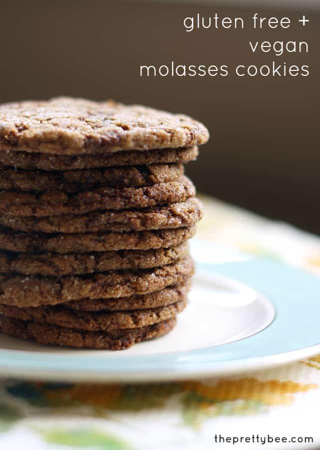 vegan molasses cookie recipe