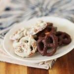 gluten free chocolate covered pretzels