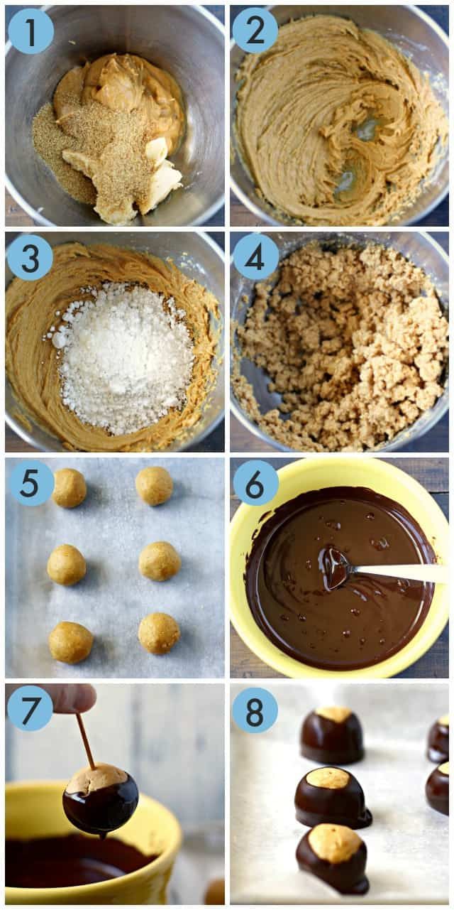 how to make buckeye candies