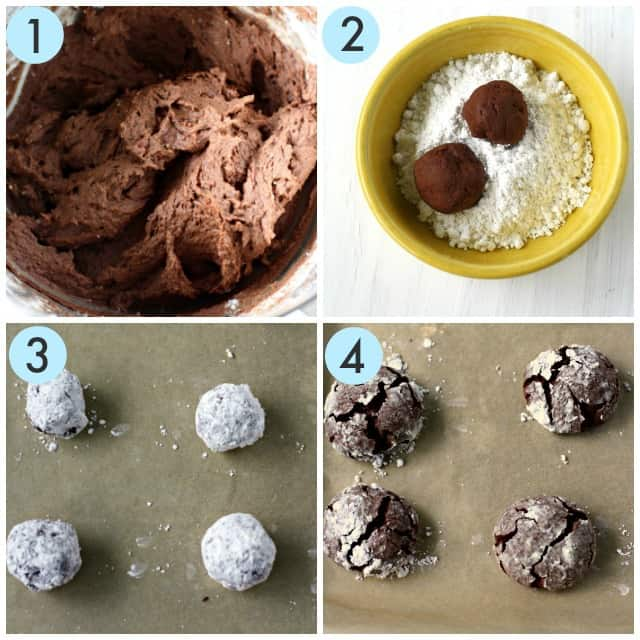 how to make crinkle cookies