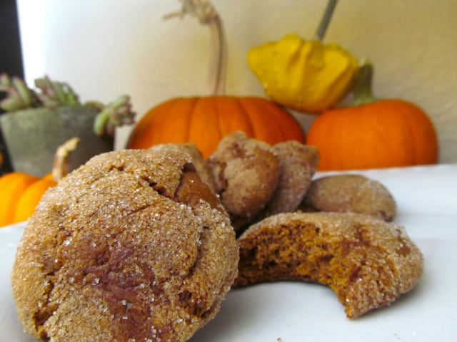 Gluten Free Pumpkin Molasses Cookies. - The Pretty Bee