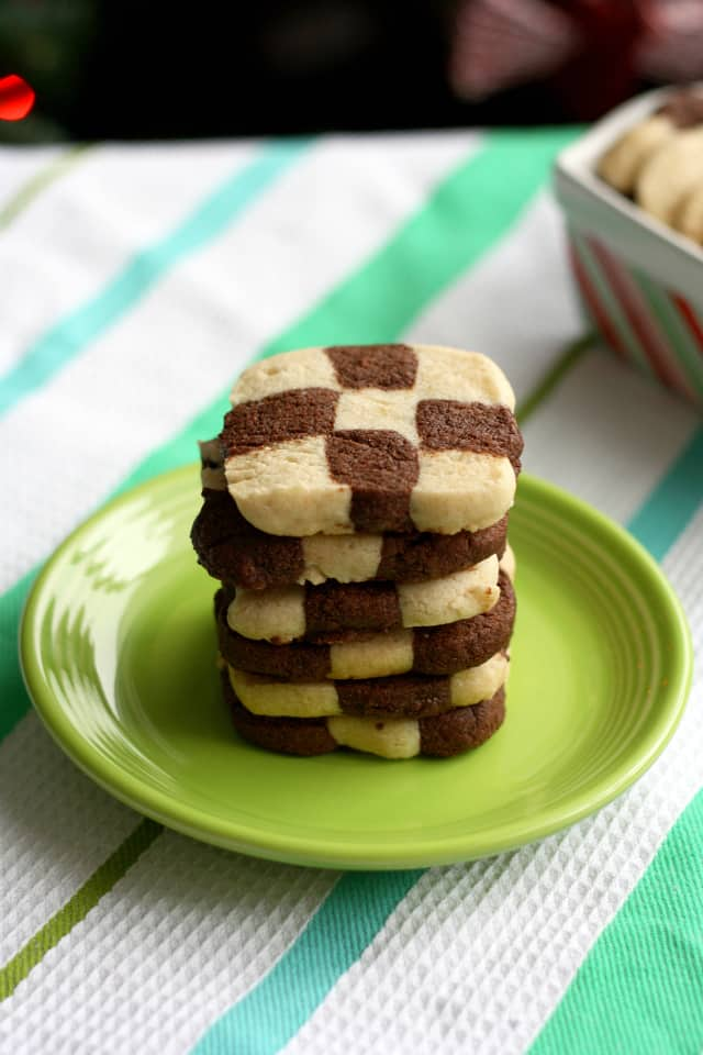 checkerboard cookie recipe