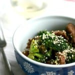 Simple Beef and Broccoli Stir Fry.