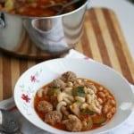 Italian mini meatball soup recipe