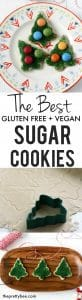 the best gluten free vegan sugar cookies