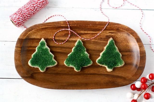 vegan sugar cookies with sprinkles